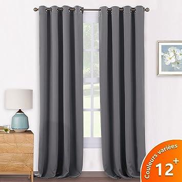 rideaux salon gris. Black Bedroom Furniture Sets. Home Design Ideas