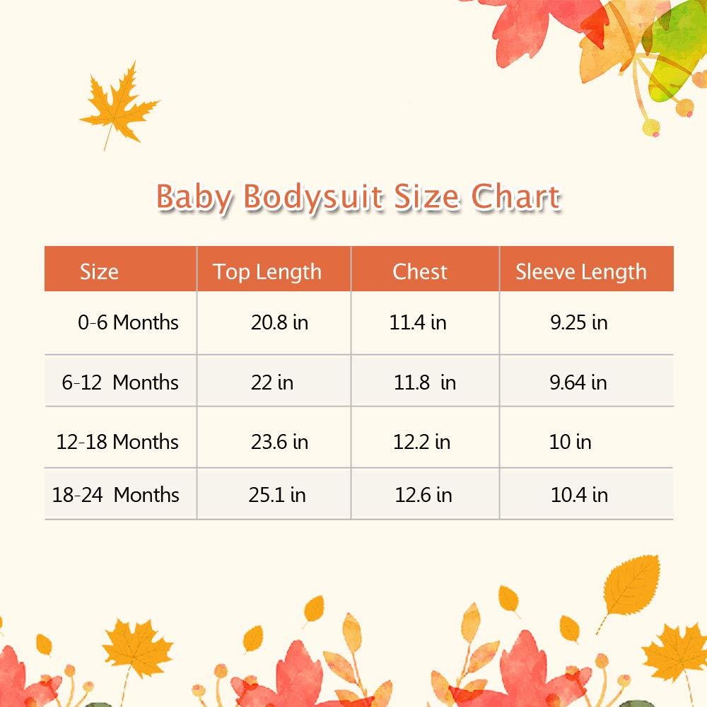 Amazon.com: Probaby - Body de manga larga para bebé, diseño ...