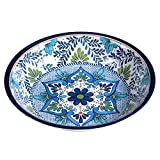 Certified International Talavera Melamine 13.75'' x 2.75'' Large Serving Bowl, Multicolor