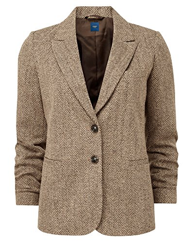 Cotton Traders Camel Wool Blazer 2019