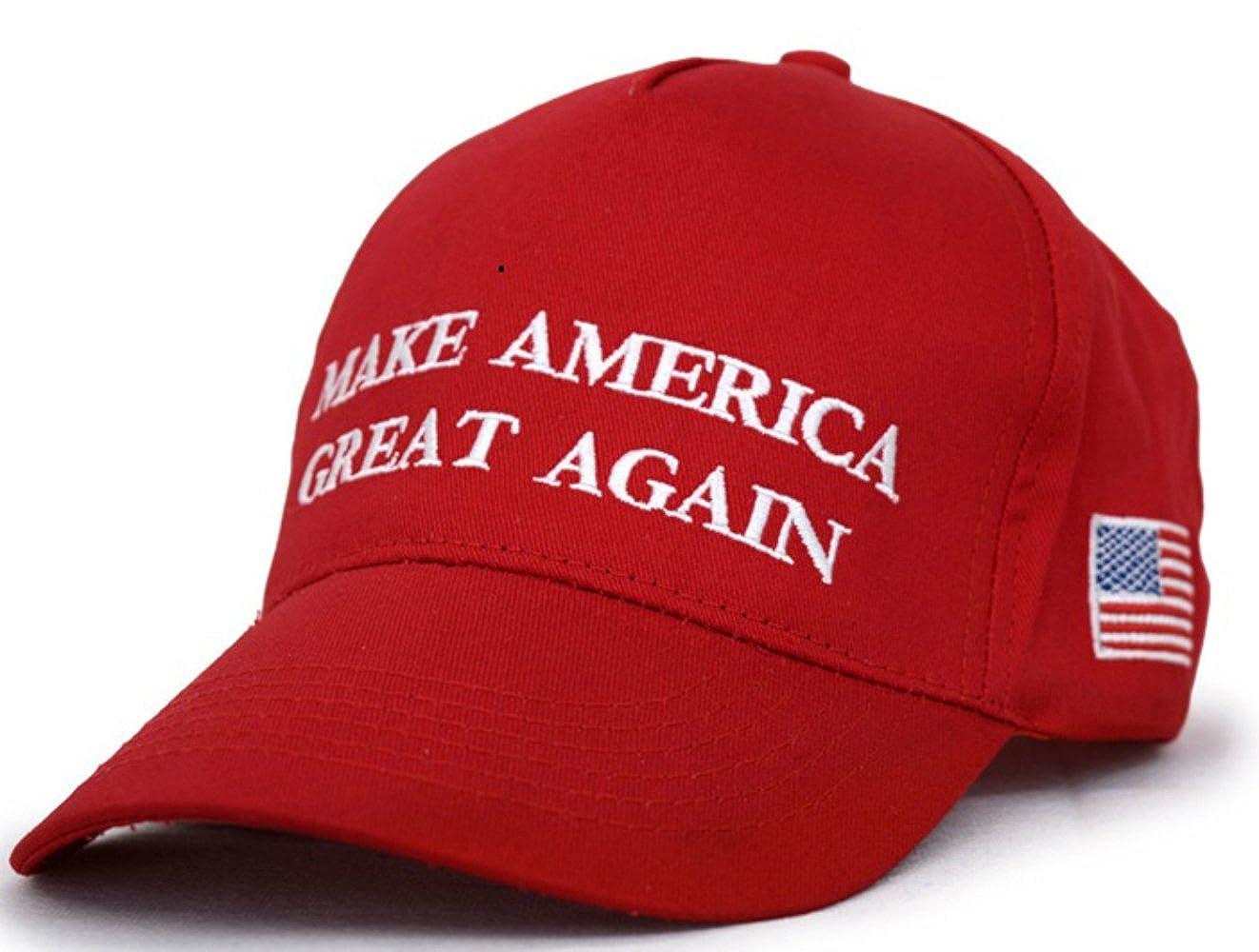 Make America Great Again Donald Trump USA Cap Adjustable Baseball Hat Women Breathable Eyelets