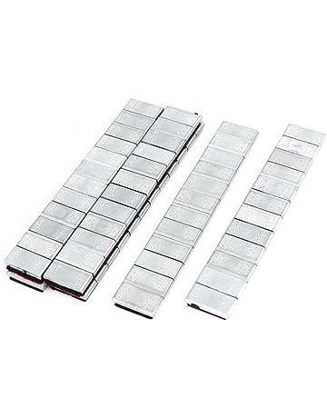 TOOGOO(R) 6 x Adhesivos Rueda Pesos De Equilibrado Tira De Plata 60g para