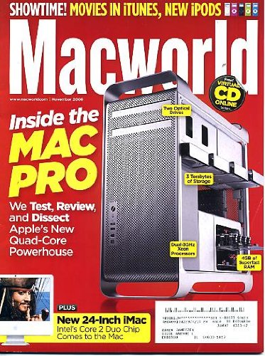 New Music Pro Ipod - Macworld November 2006 Inside the Mac Pro - We Test Review & Dissect New Quad-Core Powerhouse, New 24-inch iMac, Movies in iTunes, New iPods, Social Networking and New Music, Back Up Photos on the Road