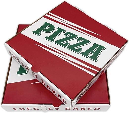 Caja de embalaje Pizza, rectángulo for llevar el embalaje, caja de ...