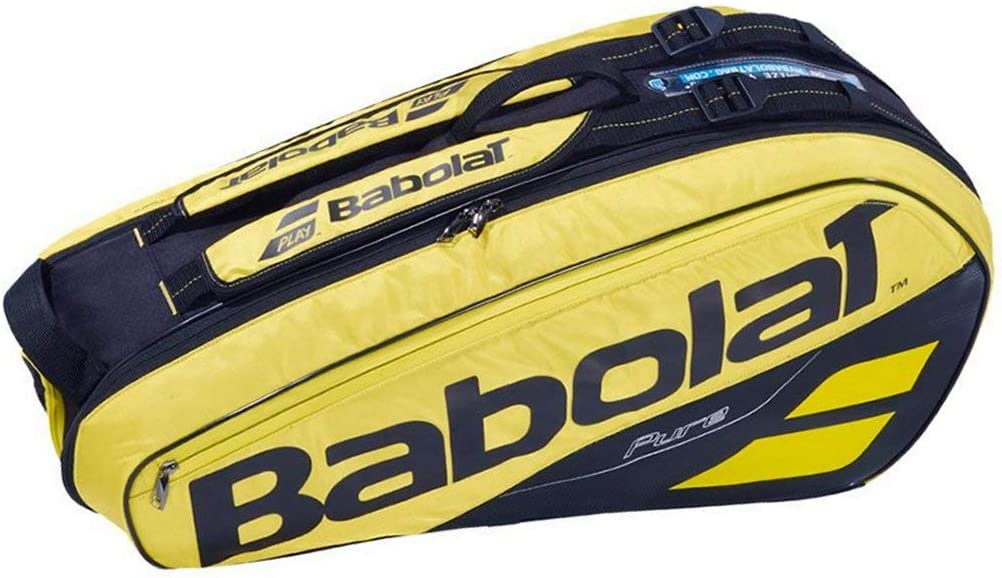 Babolat 2018-2019 Pure Quality 6 Racquet Tennis Bag – Choice of Color