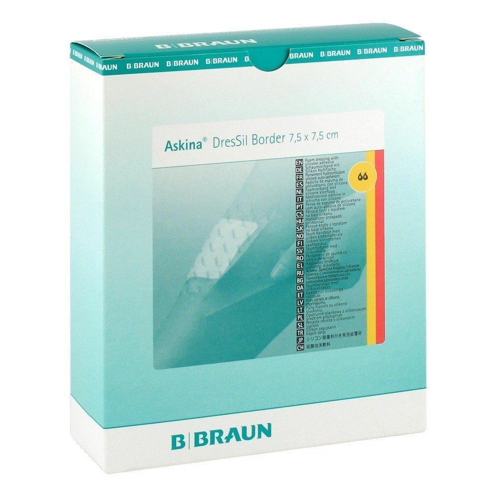 Askina dressil sil frontera. Schaumst, V, 7,5 x 7,5 cm 3 St: Amazon.es: Salud y cuidado personal