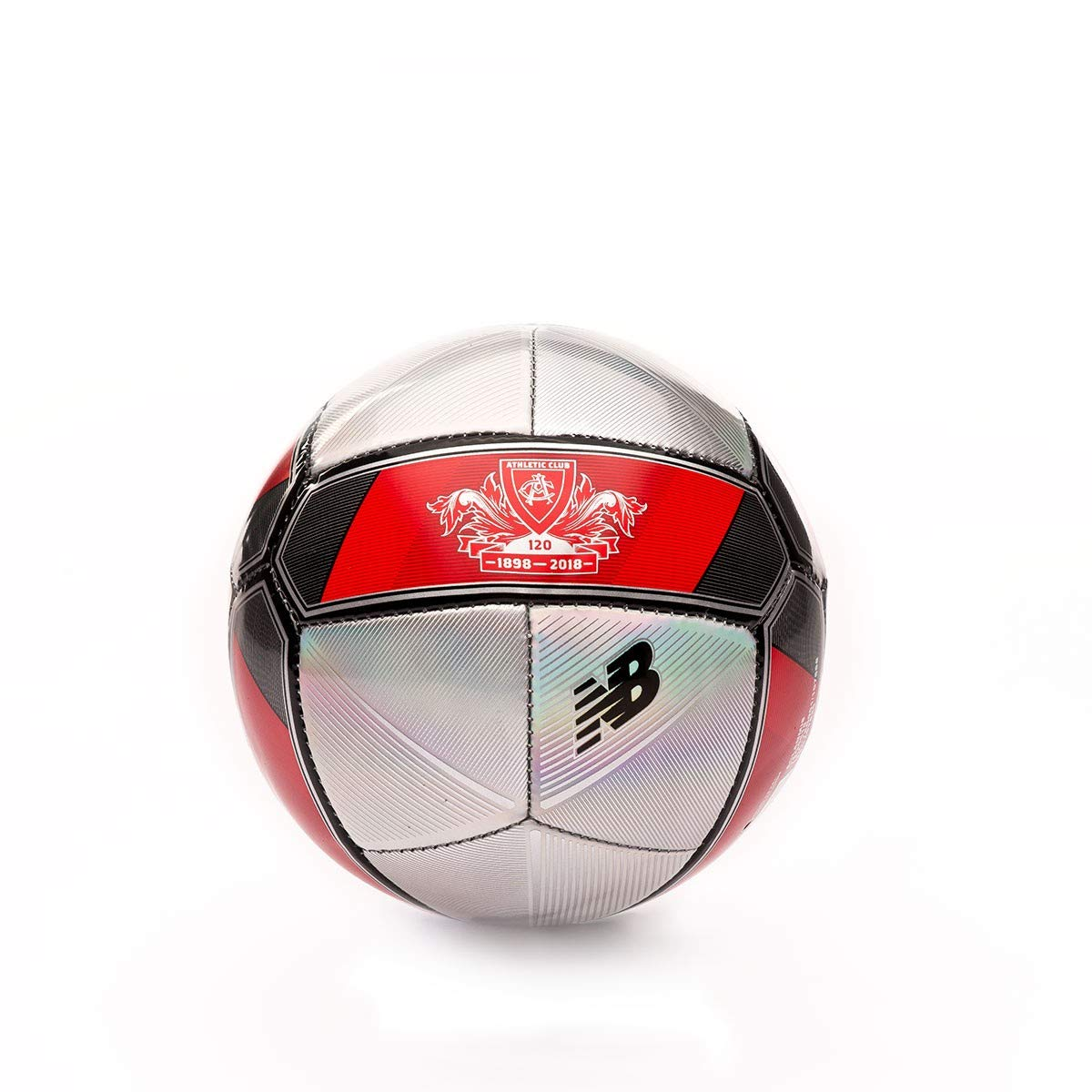 New Balance Mini AC Bilbao Aniversario 2018-2019, Balón, Grey-Red ...