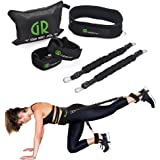 GUARD & REVIVAL TREAT Booty Band Exercise Belt System - Resistance Bands for Leg and Butt£¬Tone Firm and Build Lift Glute and Lower Body Muscles Shape