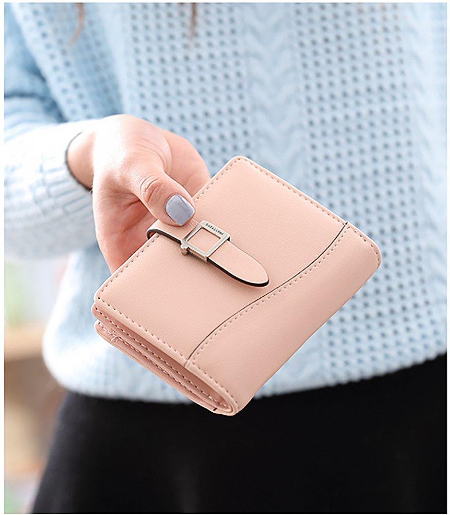 UTO Women Wallet Holder 19628 Soft PU Leather Small B079JB11KZ Snap ...