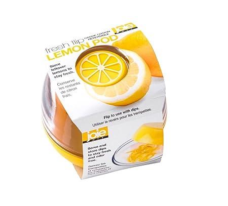 Joie Bote Guarda Limones Reversible, Amarillo/Transparente, 8,9 x ...