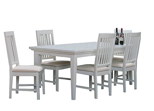 Dynamic24 Paris - Conjunto de Mesa y sillas para Comedor (9 Piezas ...
