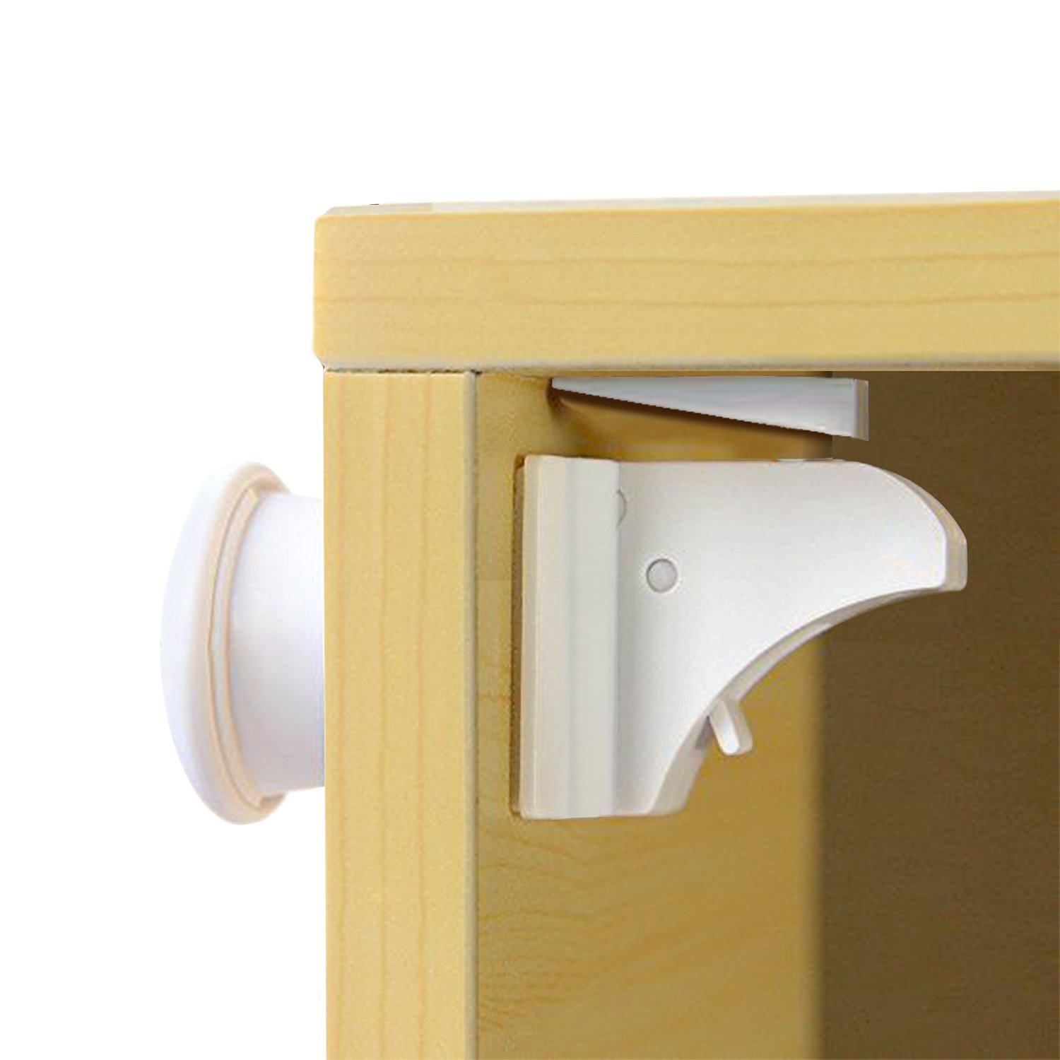 Child Safety Magnetic Cupboard Locks No Tools Screws Needed