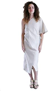 product image for Shaina Mote Womens Linen Wrap Dress Flax 4, 6