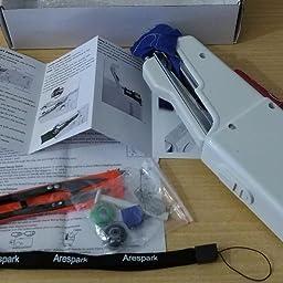 Arespark Máquina de Coser Manual de Puntada de Costura Mini Manual Portátil de Viaje.: Amazon.es: Hogar