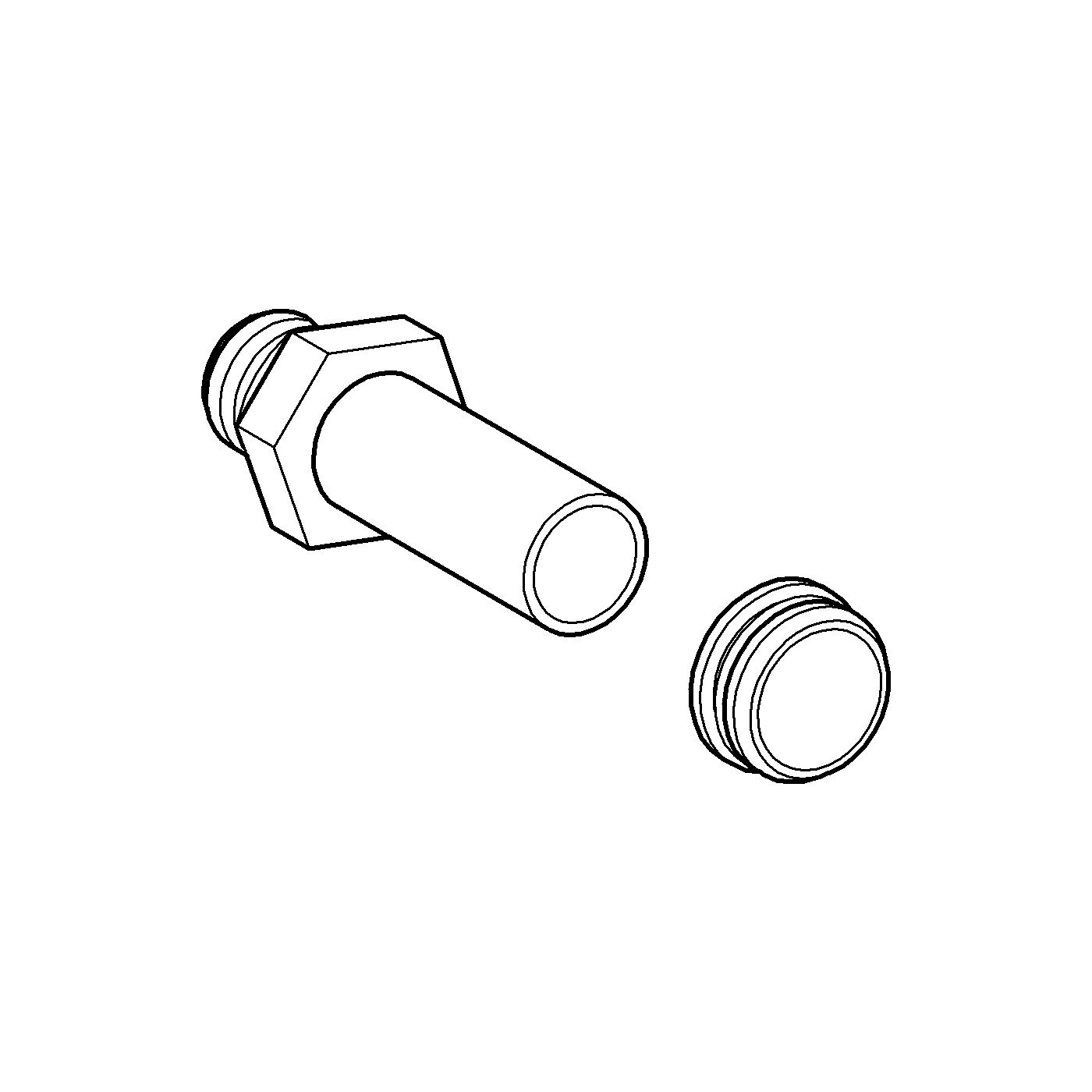 GROHE 37044000 Inlet Connecting Set