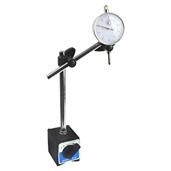 Adjustable Metal Magnetic Base Stand Holder for Dial Test Indicator Gauge 8/""