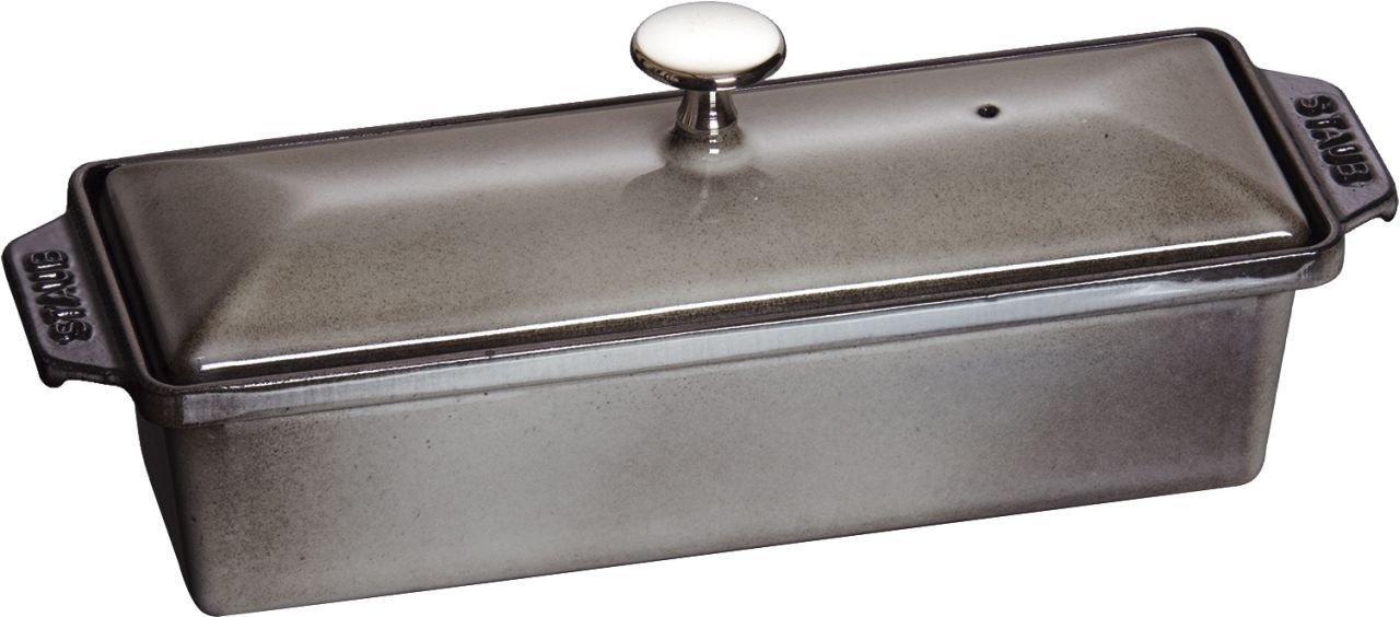 Staub 1313018 Rectangular Terrine, Graphite Grey 40509-574-0