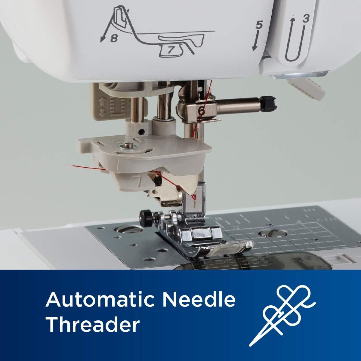 Brother SE600 - Máquina de coser (Blanco, Máquina de coser ...