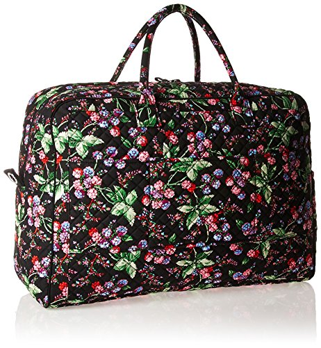 61 UNRCXz3L - Vera Bradley Women's Iconic Grand Weekender Travel Bag-Signature