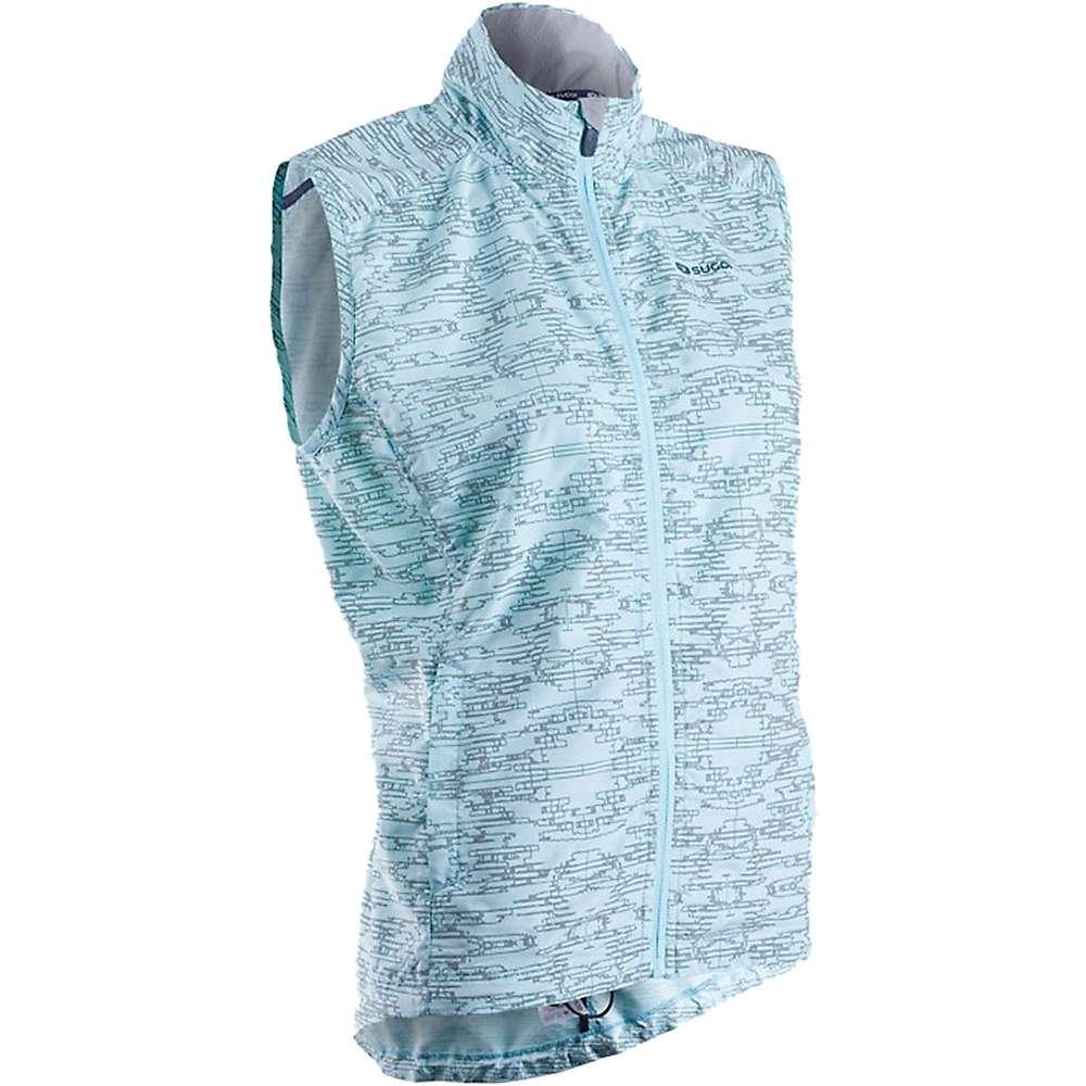 Sugoi Women's Zap Run Vest, Ice Blue, Large