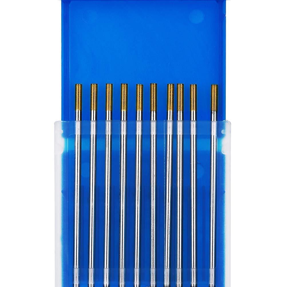 WL15 oro TEN-HIGH Soldadura TIG Tungsteno 1,5/% de Lanthane 10 unidades por paquete
