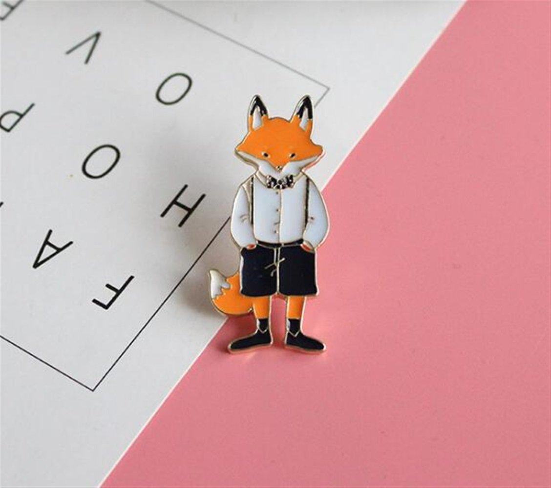 Enamel Pin Badge Souvenir Cartoon M. Fox Broches Broches Badge Vêtements Vêtements Accessoires TOUYOUIOPNG