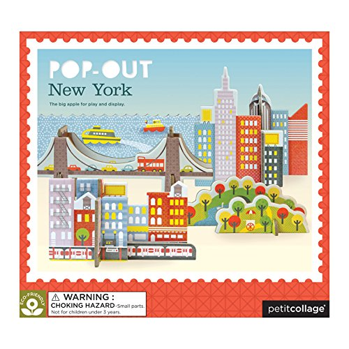Petit Collage Pop-Out and Build, New York City -
