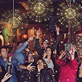 STYDDI LED Starburst Fairy String Lights, 8 Modes