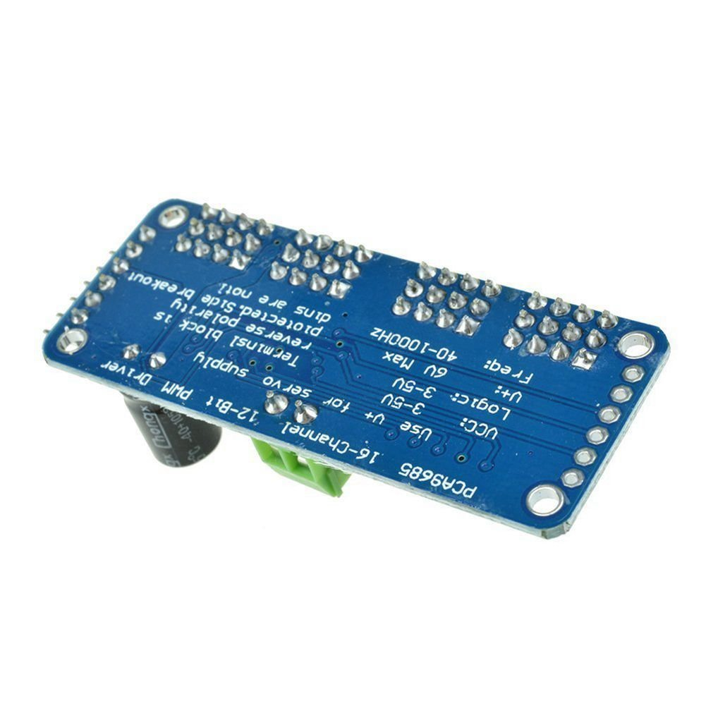 SODIAL 16 Channel PWM//Servo Driver IIC interface-PCA9685 for arduino Or Raspberry pi Shield Module servo Shield