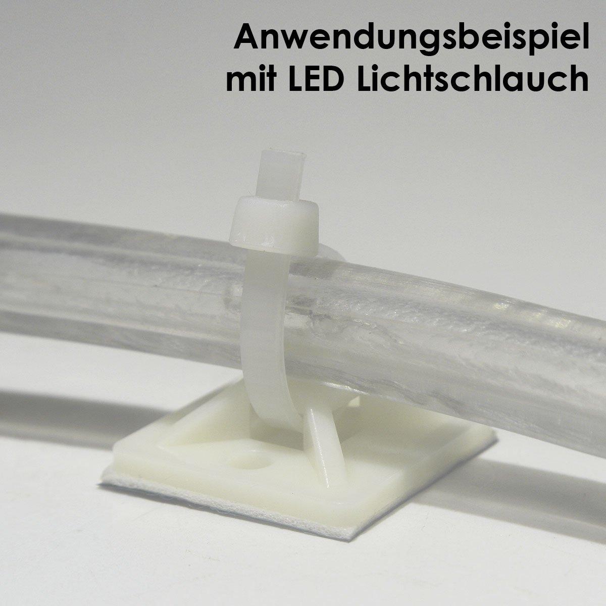 Kabelbinderhalterungen selbstklebende Kabelbinderaufnahme Kabelbinderbefestigung