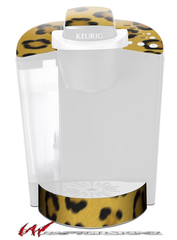 Leopard Skin – デカールスタイルビニールスキンFits Keurig k40 Eliteコーヒーメーカー( Keurig Not Included )   B017AK0ATI