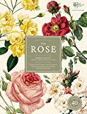 "The Rose: The History of the World's Favourite Flower in 40 Captivating Roses with Classic Texts and Rare Beautiful Prints""In Slipcover"""