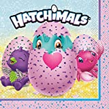 Unique 59302 Hatchimals Party Napkins, 16 Count