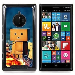 - 3d figurine friendship camping play art/ Duro Snap en el tel??fono celular de la cubierta - Cao - For Nokia Lumia 830