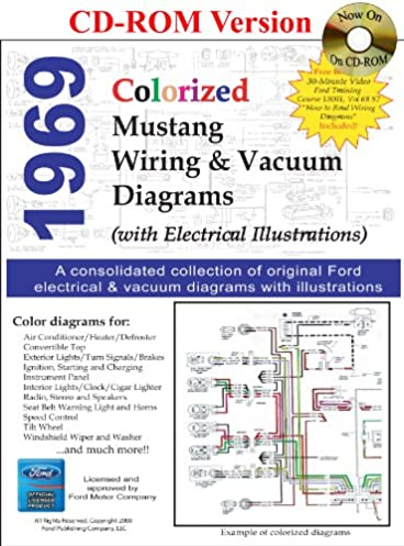 1969 colorized mustang wiring & vacuum diagrams david e leblanc wiring diagram for 1969 ford mustang 1969 colorized mustang wiring & vacuum diagrams david e leblanc 9781603710282 amazon com books