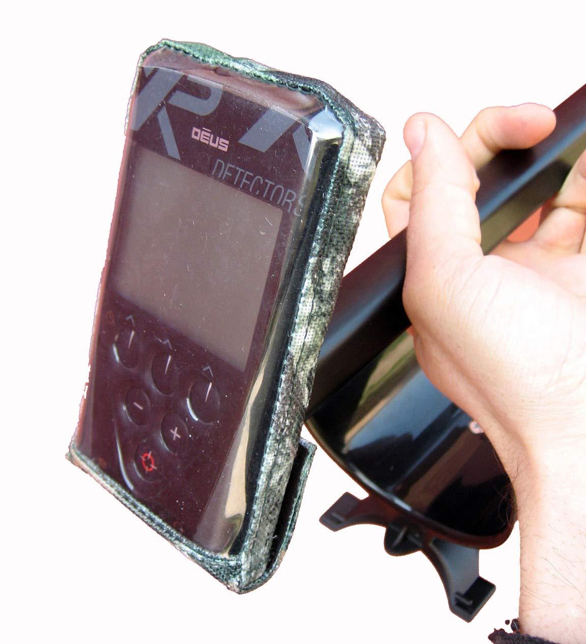 DetectorCovers XP Deus LA Tapa DE LA Caja DE Control del Detector DE Metales 600 Camo Paño DE PVC: Amazon.es: Deportes y aire libre