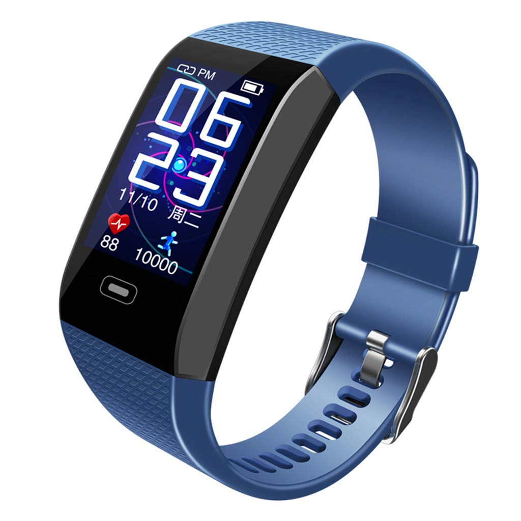 Smart Monitor Heart Rate Bracelet Color Bracelet Wristband for Android Watch