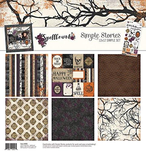 Halloween Scrapbooking Paper (Simple Stories Spellbound Simple Set)