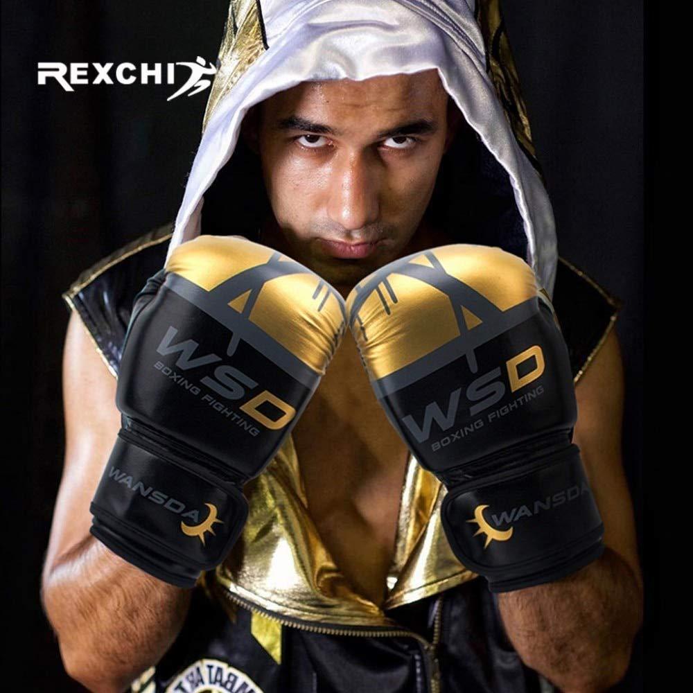 Heeydaa Kick Boxing Gants pour Hommes Femmes PU Karat/é Muay Thai Guantes De Box/éo Combat Libre Sanda Formation Adultes Enfants /Équipement