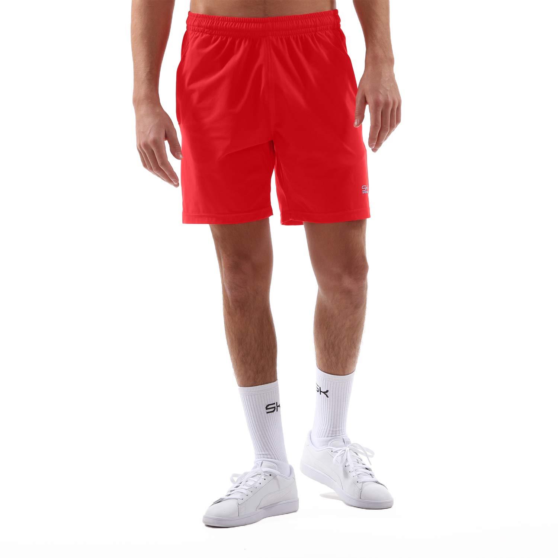 Sportkind Jungen & Herren Tennis/Training / Sport Shorts Regular, rot, Gr. S