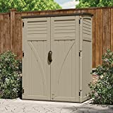 Suncast (BMS5700) Vertical Shed 54 cu. ft., Sand