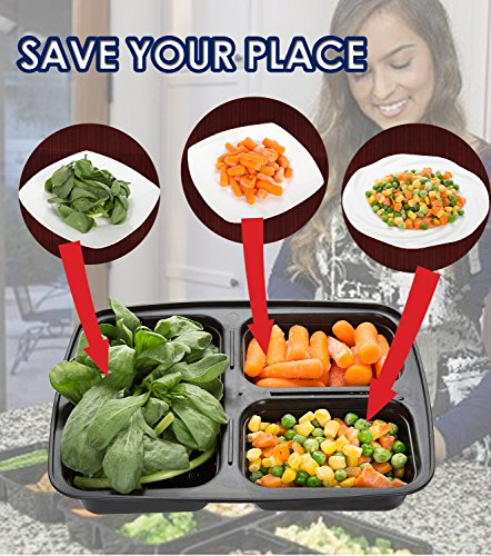20-Pack-Meal-Prep-Containers-3-Compartment-Plastic-Food-Container-with-Lids-Divided-Bento-Lunch-Box-MicrowaveDishwasher-Safe-Portion-Control21-Day-Fix20-Sporks36oz