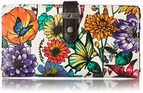 Sakroots Rae Slim Charging Wallet, Optic in Bloom, used for sale  Delivered anywhere in USA