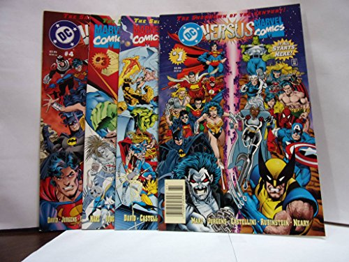 DC Versus Marvel Comics - #1 Thru #4