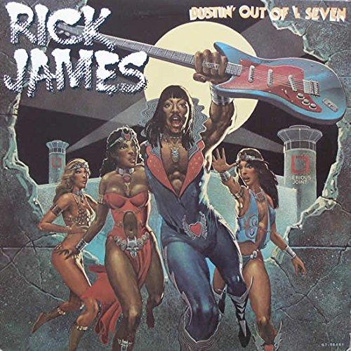 "Price comparison product image Rick James – Bustin Out Of L Seven Promo - G7-984R1 - 12"" Vinyl Record LP Album - Original US Pressing VG VG"