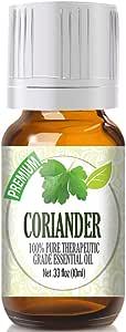 Coriander Essential Oil - 100% Pure Therapeutic Grade Coriander Oil - 10ml
