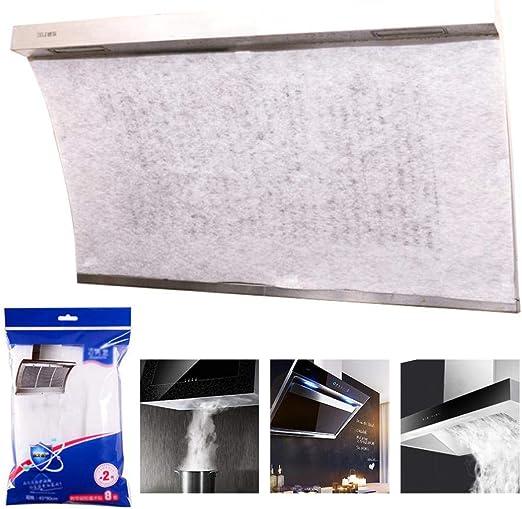 Filtro para Campana de Cocina, 2 filtros de Grasa universales para Extractor de Grasa, Corte a Medida para Todas Las Campanas de Cocina, A-15.7 * 19.6 Inches: Amazon.es: Hogar