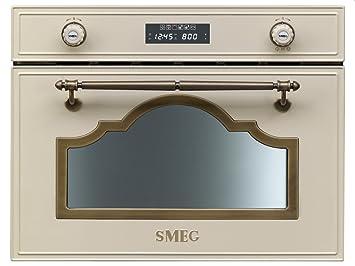 Smeg SC745MPO - Microondas (Integrado, 34 L, 1000 W, Giratorio ...