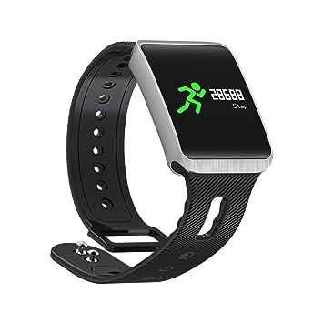 qhj Fitness Tracker Tensiómetro Activity Tracker Smart Watch, Negro: Amazon.es: Deportes y aire libre