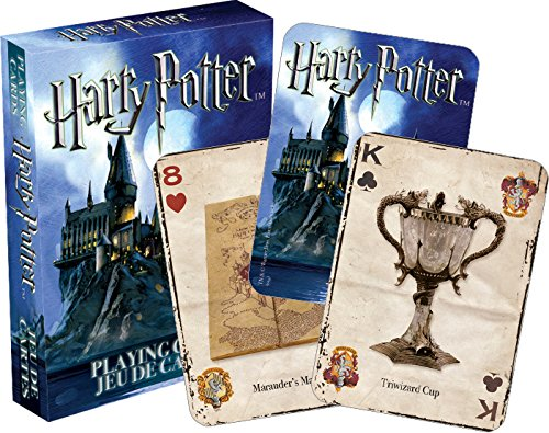 Harry Potter Card Games (Aquarius Harry Potter Playing Cards)